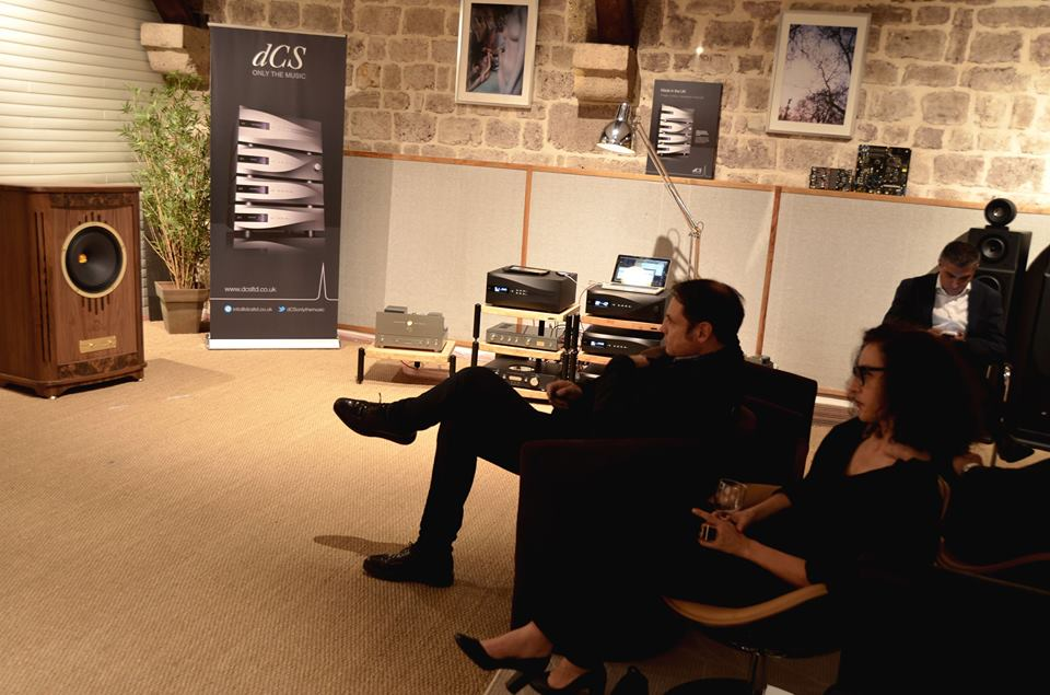 Hifi Bordeaux had a terrific listening session too!