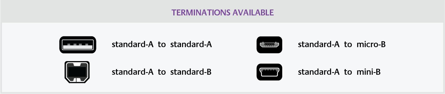purple flare USB terminations_1