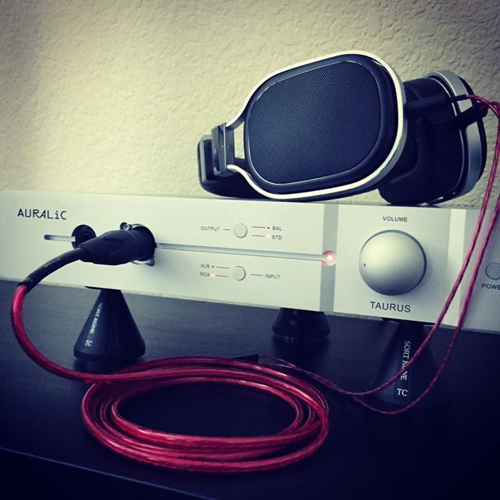 """Trying out the new Nordost Cables Heimdall2 upgrade cable for OPPO PM-1 #headphones on the AURALiC Taurus amp.""- HiFiGuy 528"