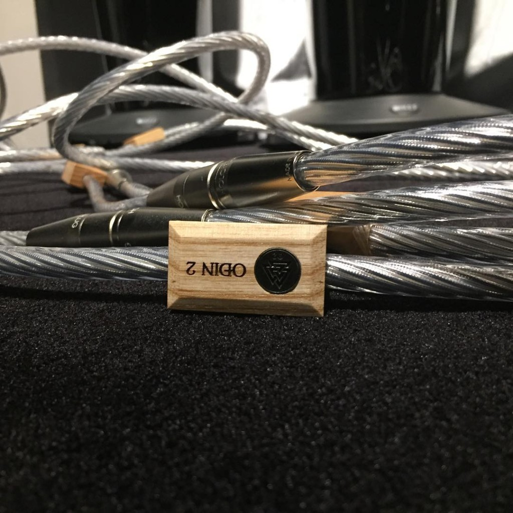 Thank you to Oslo Hi-Fi Center for this picture of the new Odin 2 Analog Interconnects!