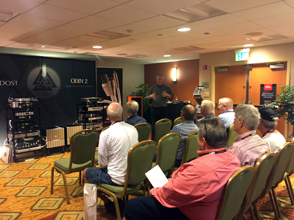 Nordost VP of North American Sales, Michael Taylor, gives a great product demo!