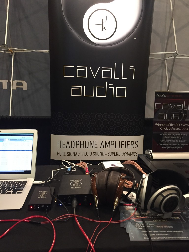 Heimdall 2 Headphone Cables were being used in Cavalli Audio's booth at Can Jam