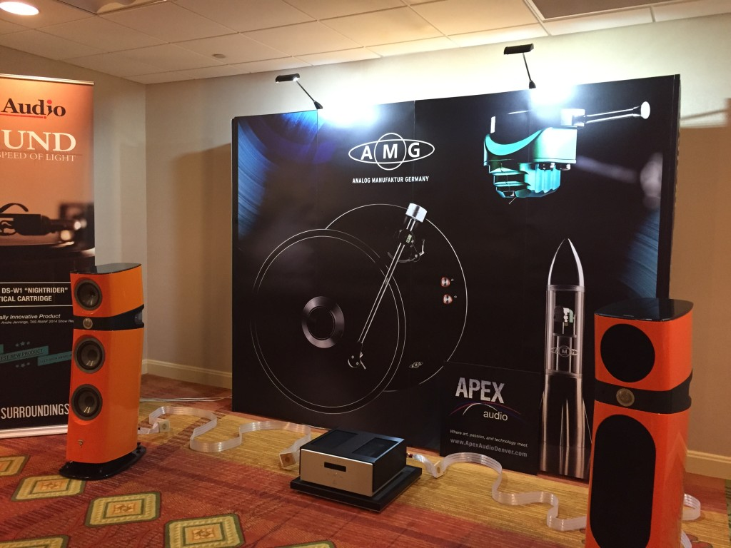 Our dealer Apex Audio's room sounded great with Valhalla 2 cables and Focale speakers