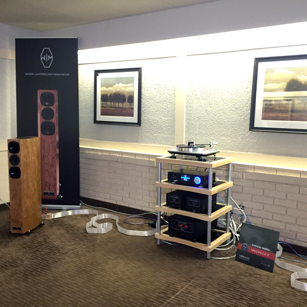 Goerner Audio was wired with Valhalla 2 Reference cables