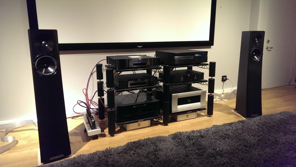 Ljudmakarn's system is outfitted with Nordost cables and QRT power products