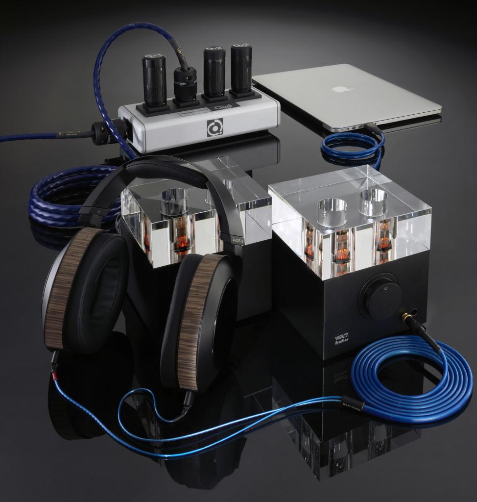 Blue Heaven Headphone Cable_Rig