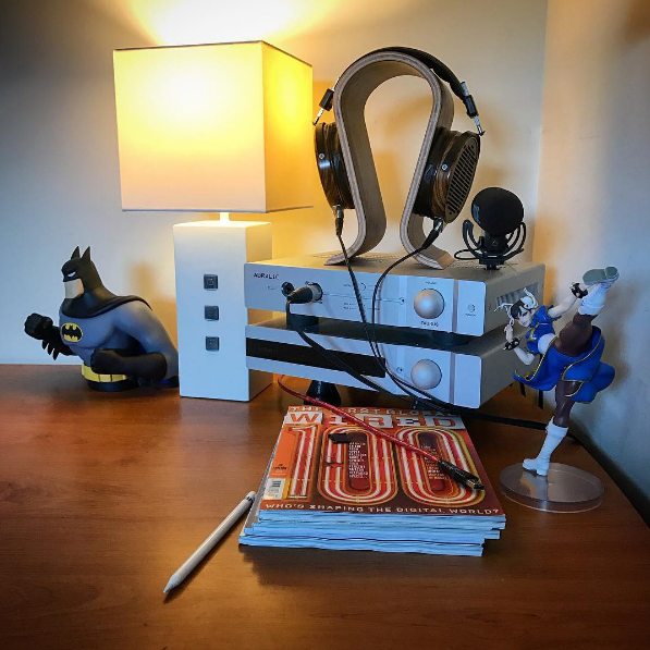 Batman and Chun Li are making sure no one tries to steal the Heimdall 2 USB Cable from @_shak_