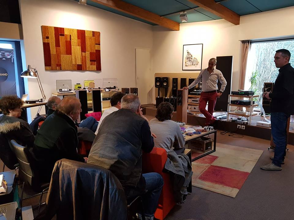 Nordost Day at Audiotorium Pederson!