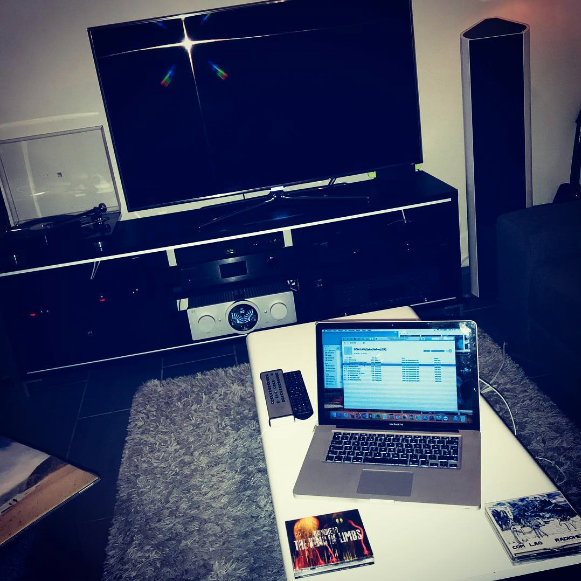 """Listening to Jesu/Sun Kill Moon on vinyl and ripping CD's! ☺️ #vinyl #rega #bmcaudio #sonusfaber #naim #nordost #audiophile #cambridgeaudio #hifi #cd #ripping #streaming #music #stereophile #radiohead #jesu #sunkillmoon #mac"" - @hansibar77"