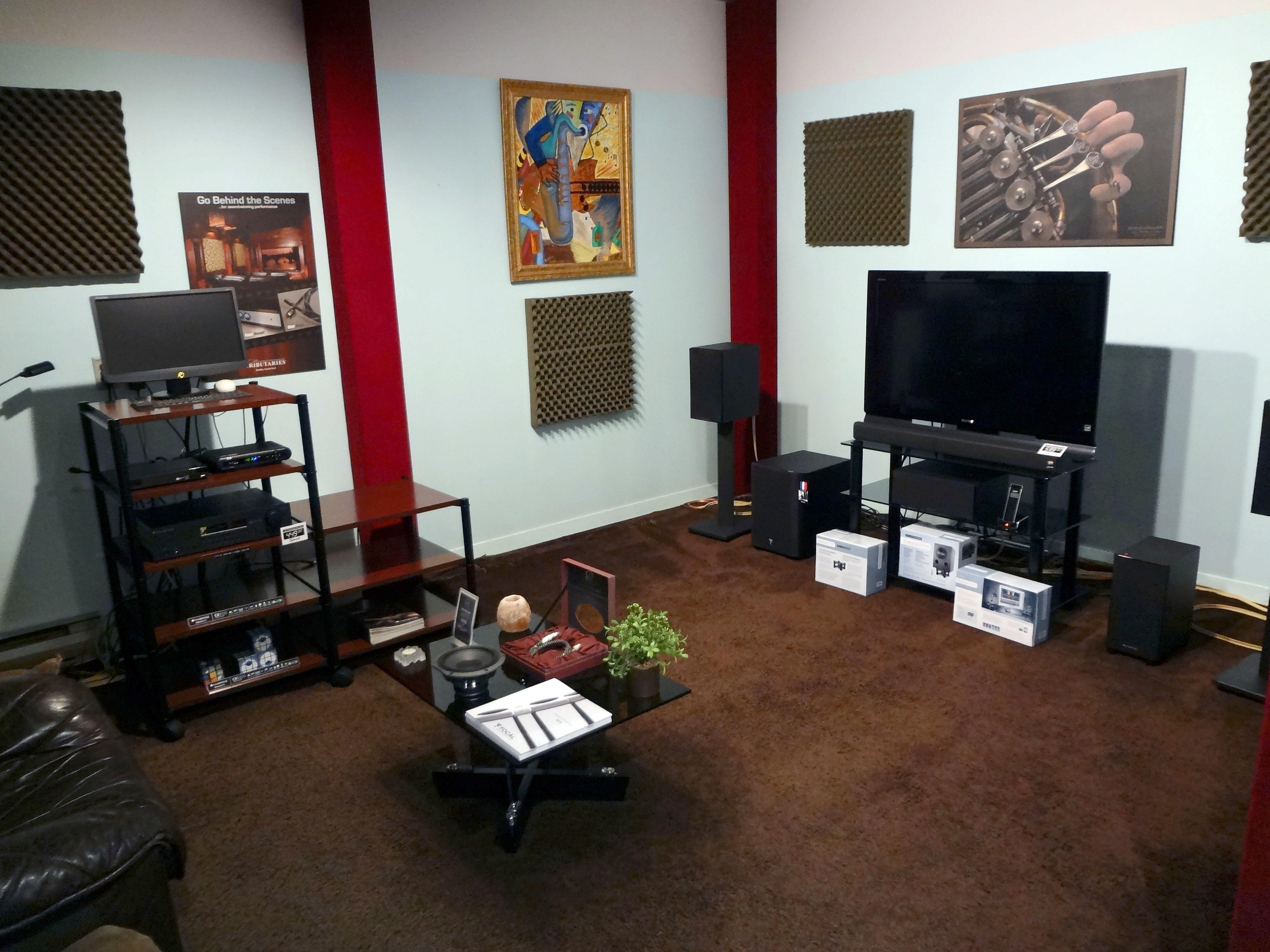 Salon d'écoute B