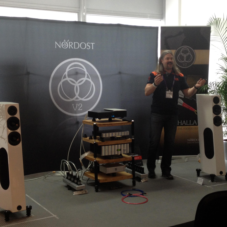 Bjorn Bengtsson gave an incredible demo, as always!