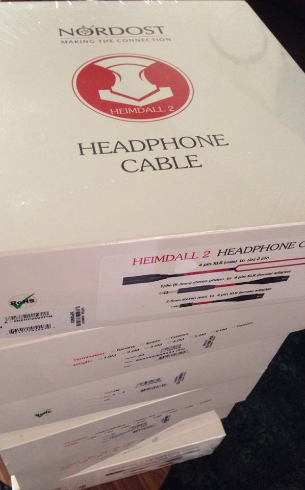 """Going for a climb this weekend, climb the Mt. Nordost Cables :) "" -HiFiGuy528"