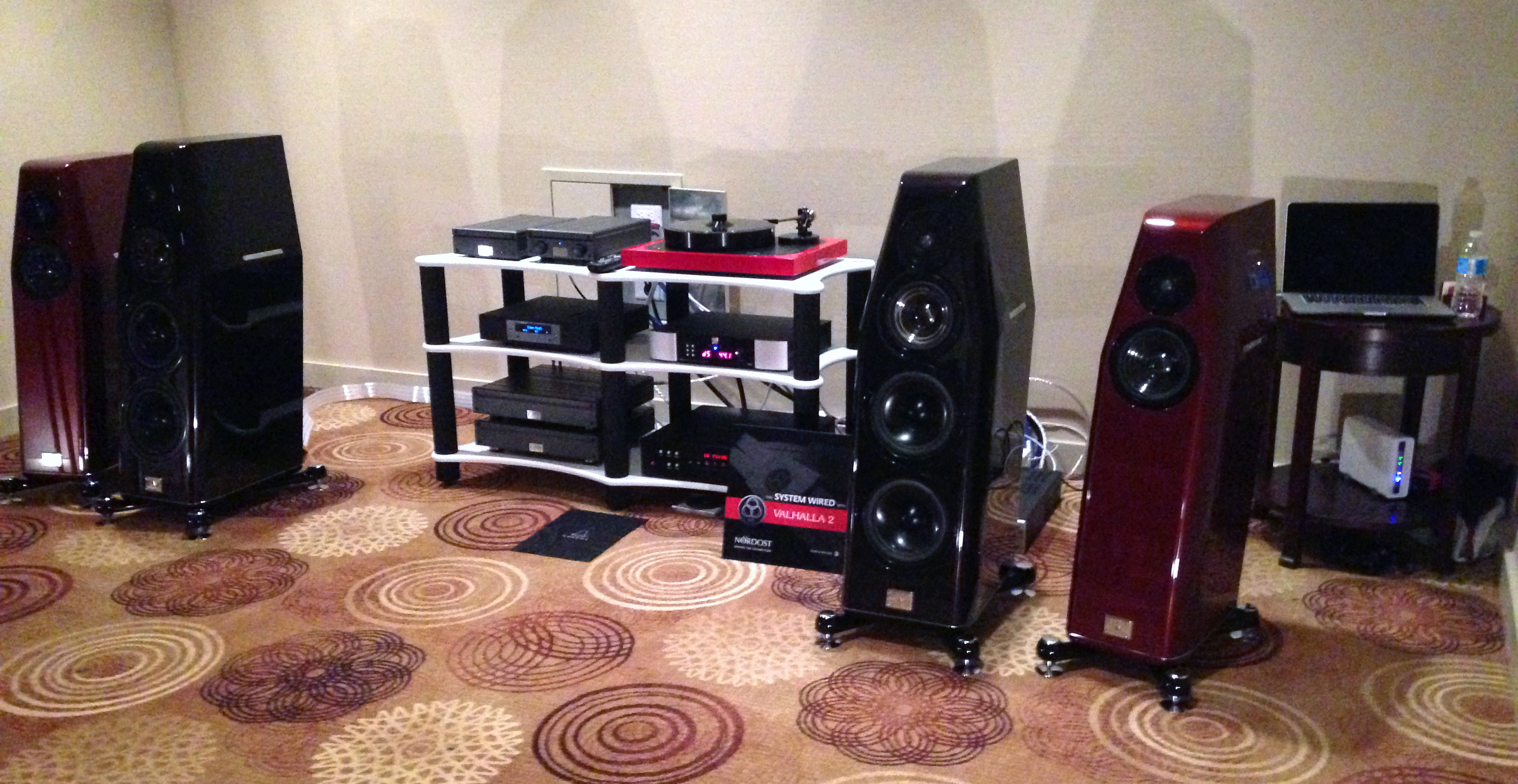 Audio Eden's room sounded amazing with our Valhalla 2 cables!