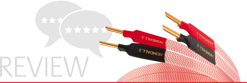 Review Banner- Heimdall 2 Speaker Cable