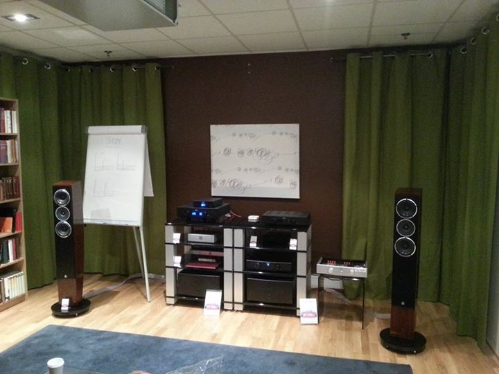 """The system, containing a variety of Hegel Components, SA Pandion 30 loudspeakers and cables from Nordost."" - Hegel Music System"