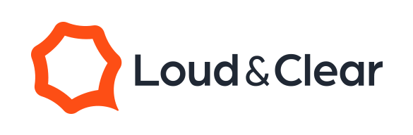 loud and clear logo