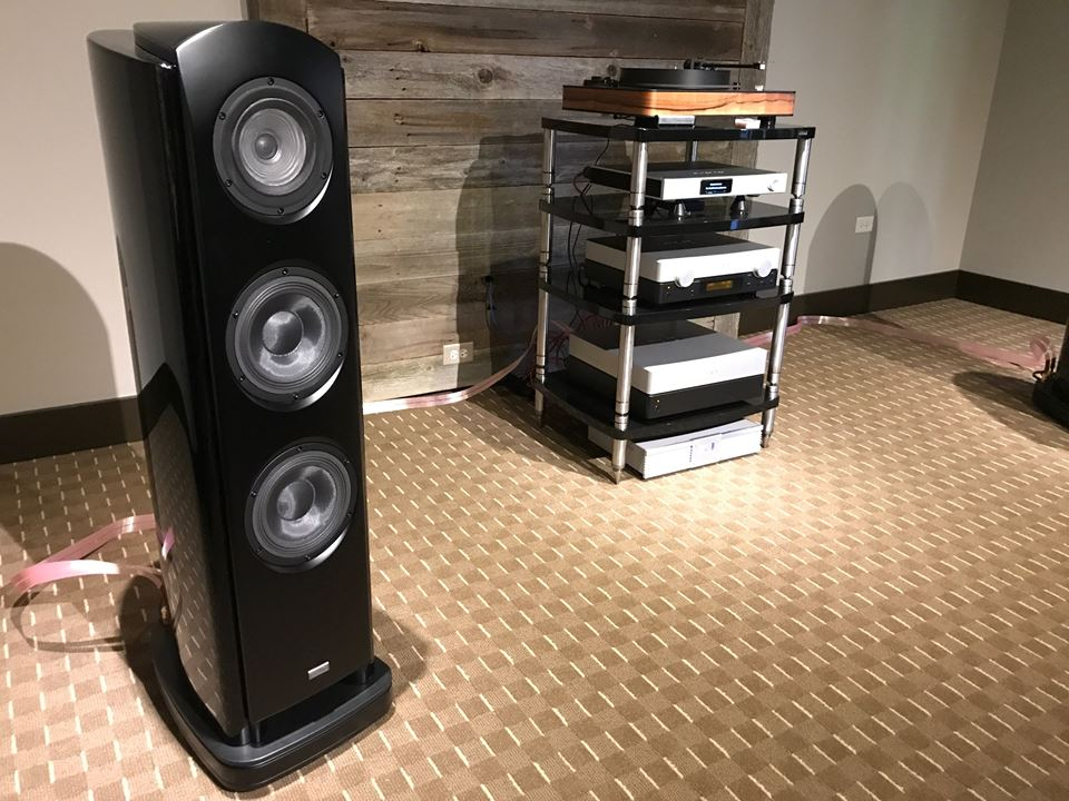 F1 Audio is using Sort Kones and Heimdall 2 to complete this great system.