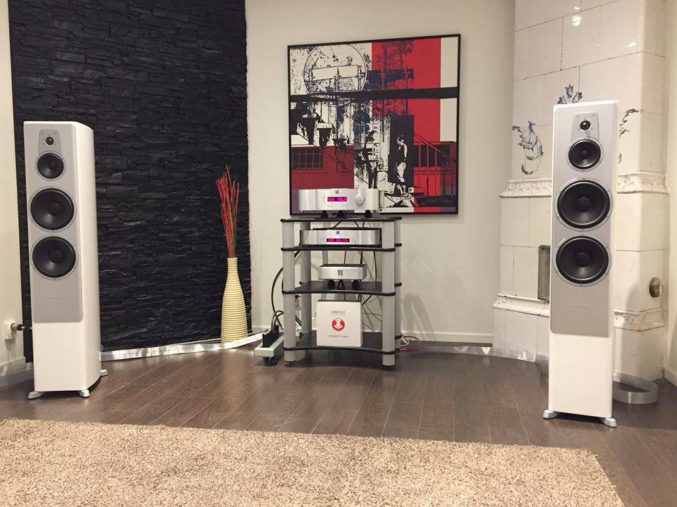 Great looking (and sounding!) system from Stylus audio.