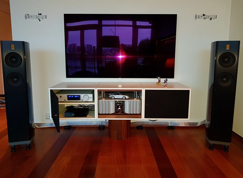 """A stereo of the amazing battle! At Home with a brilliant happy customer feeds the music out in the room from components powered by Burmester Audiosysteme GmbH, Ayre and IsoTek Systems-bound together by cables from Nordost Cables."" - Oslo Hi-Fi Center"