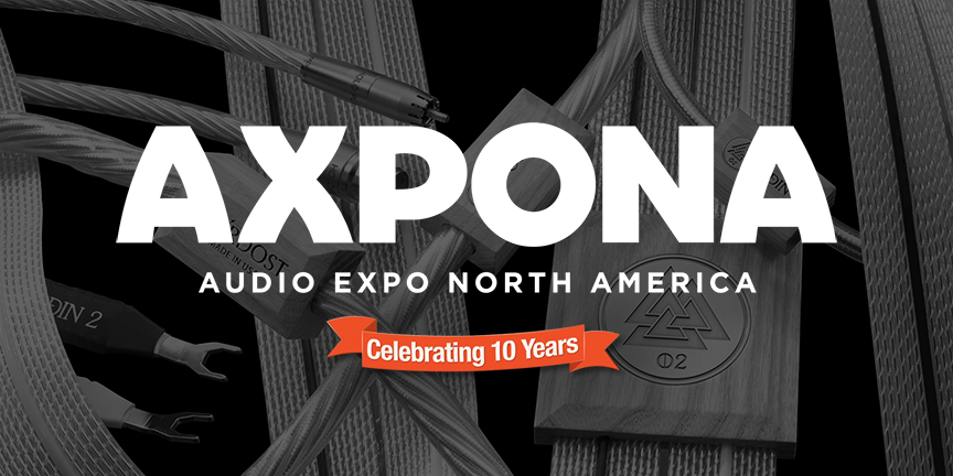 Nordost is headed to AXPONA in Chicago!